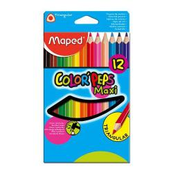 Pastelky MAPED, Color Peps Maxi, 12 ks.